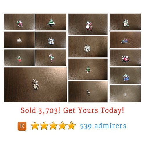 Christmas Charms Etsy shop #etsy @jazzhandssupply  #etsy #PromoteEtsy #PictureVideo @SharePicVideo