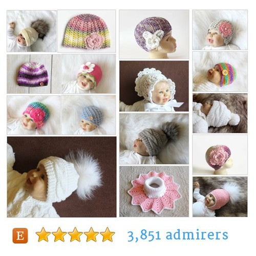 Handmade Baby Hats Etsy shop #handmadebabyhat #etsy #PromoteEtsy #PictureVideo @SharePicVideo