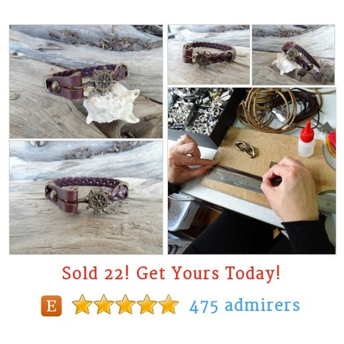 EXPRESS SHIPPING,Brown Thick Braided Leather Bracelet,High Quality Leather Bracelet,Men's Jewelry,Antique Clasp Bracelet,Father's Day Gifts #Woven #Jewelry #Bracelet #etsy #PromoteEtsy #PictureVideo @SharePicVideo