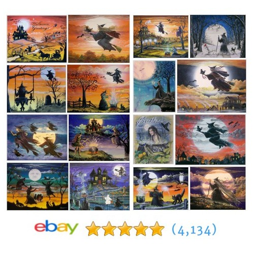 Art Prints ~ Fantasy ~ Witches Great deals from ByrumDesigns #ebay @magikalseasons  #ebay #PromoteEbay #PictureVideo @SharePicVideo