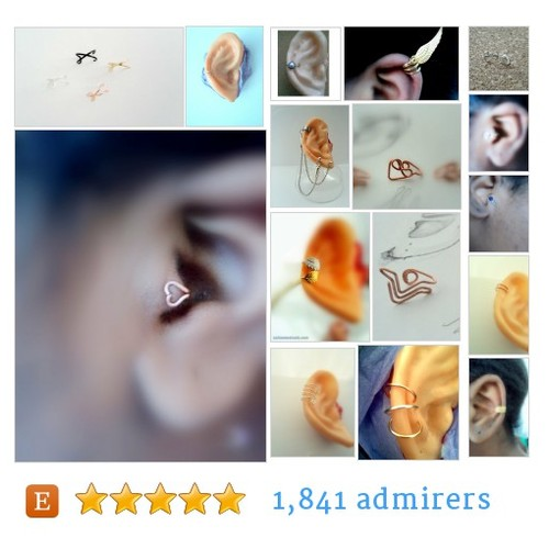 Ear Cuff jewellery #etsy shop #earcuffjewellery @salmonnaturals  #etsy #PromoteEtsy #PictureVideo @SharePicVideo