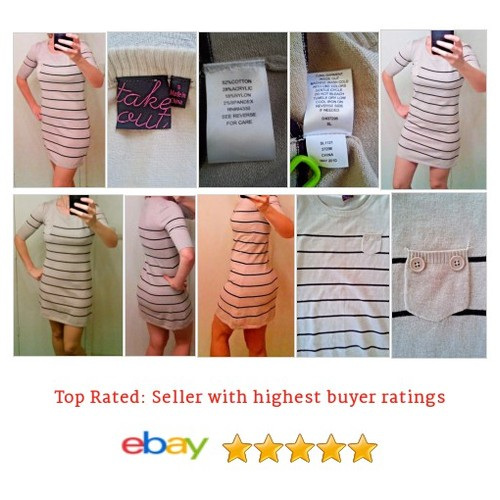Take Out Women's #Dress Multi-Color Striped Size Small Spring Summer Above knee | eBay #TakeOut #WomensClothing #etsy #PromoteEbay #PictureVideo @SharePicVideo