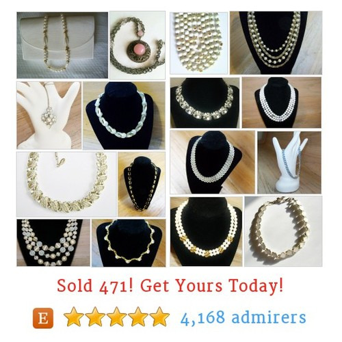 Vintage Necklaces Etsy shop #vintagenecklace #etsy @maryhigley1  #etsy #PromoteEtsy #PictureVideo @SharePicVideo