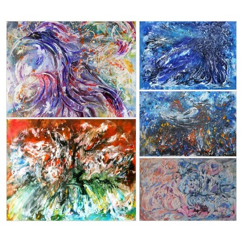 Exclusive Absract original Paintings by ArtBuyOnline Etsy shop #etsy #PromoteEtsy #PictureVideo @SharePicVideo