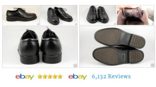 #Rockport Mens 10.5 WIDE Black Wingtips Shoes Leather Oxfords SZ LN Comfort #Oxford #Casual #etsy #PromoteEbay #PictureVideo @SharePicVideo