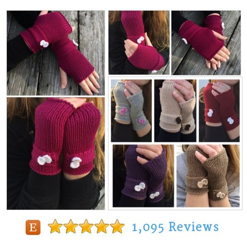 Knit Gloves, Fingerless Gloves, Gloves with #etsy @127wwonders  #etsy #PromoteEtsy #PictureVideo @SharePicVideo