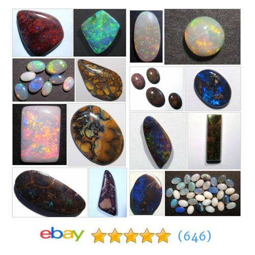 Solid Opals Great deals from AUSTRALIAN OPAL WHOLESALERS #ebay @australian_opal  #ebay #PromoteEbay #PictureVideo @SharePicVideo