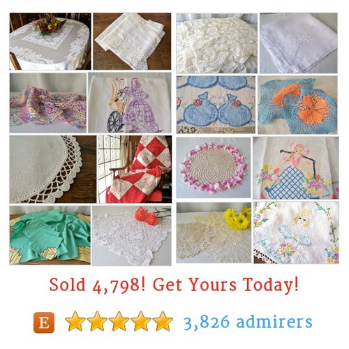 Doilies, Linen & Quilts Etsy shop #etsy @cynthiasattic https://www.SharePicVideo.com/?ref=PostPicVideoToTwitter-cynthiasattic #etsy #PromoteEtsy #PictureVideo @SharePicVideo
