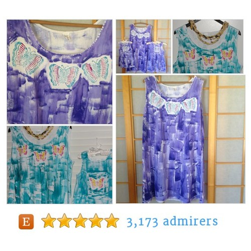 Kaua'i Hawaii Hand Painted Dresses #etsyfashion #epiconetsy #integritytt @MDFDRetweets @HyperRTs @NightRTs @EtsyRT  #etsy #PromoteEtsy #PictureVideo @SharePicVideo