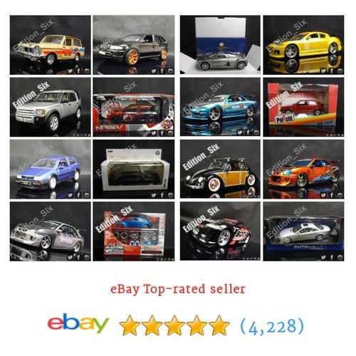 Model Cars/The Garage Items in Edition Six store ! #ebay @edition_six https://www.SharePicVideo.com/?ref=PostPicVideoToTwitter-edition_six #ebay #PromoteEbay #PictureVideo @SharePicVideo