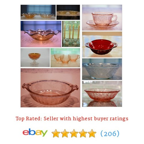 Depression Glass Items in Vintage Collectibles From Georgia store #ebay @thebertofficial https://www.SharePicVideo.com/?ref=PostPicVideoToTwitter-thebertofficial #ebay #PromoteEbay #PictureVideo @SharePicVideo