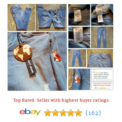 Articles of Society Women's Jeans Size 26 Blue Distressed Mended with Applique | eBay #Slim #Jean #Skinny #etsy #PromoteEbay #PictureVideo @SharePicVideo