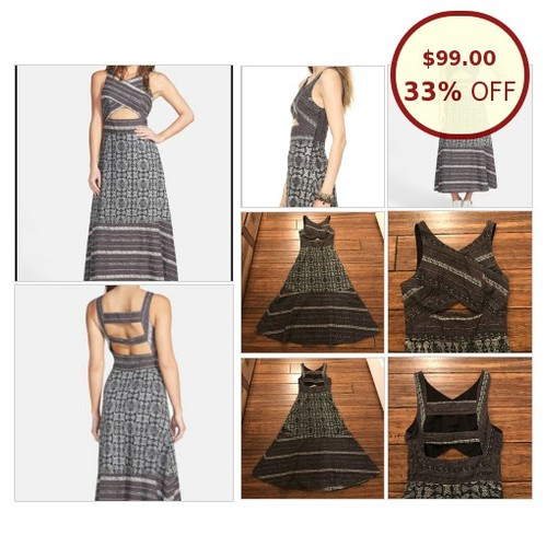 Free People Tribal Cutout Mixed Print Midi @dplaugher https://www.SharePicVideo.com/?ref=PostPicVideoToTwitter-dplaugher #socialselling #PromoteStore #PictureVideo @SharePicVideo