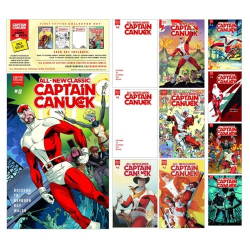 Classic Captain Canuck #shopify @chapterhouseca  #shopify #PromoteStore #PictureVideo @SharePicVideo