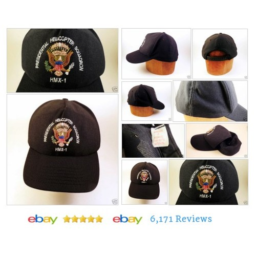 PRESIDENTIAL HELICOPTER SQUADRON HMX1 Baseball Cap Snapback Trucker #Hat Black #BaseballCapy #etsy #PromoteEbay #PictureVideo @SharePicVideo
