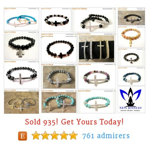 Cross Bracelets Etsy shop #etsy @xenjewelry  #etsy #PromoteEtsy #PictureVideo @SharePicVideo