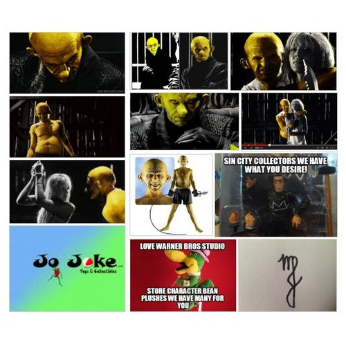 SIN CITY'S  YELLOW BASTARD #socialselling #PromoteStore #PictureVideo @SharePicVideo