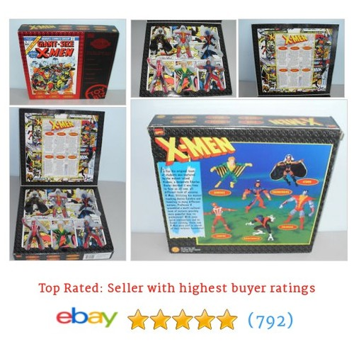 1998 Toy Biz Marvel Comics Collectors Edition Giant Sized X-Men #ebay @toyzdarkside  #etsy #PromoteEbay #PictureVideo @SharePicVideo