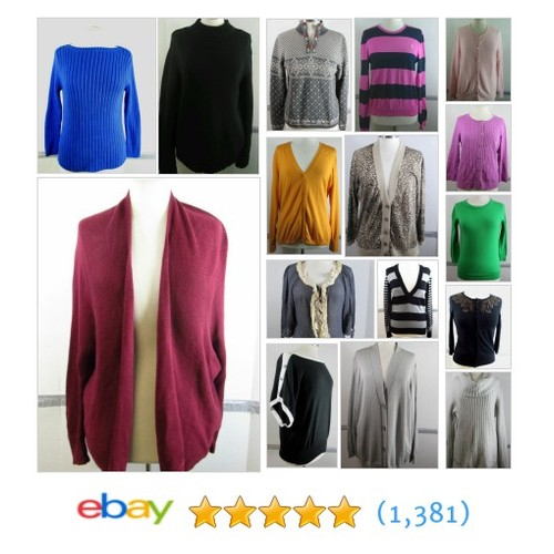 Women's Sweaters Great deals from harleyforbargains #ebay @triciaharley  #ebay #PromoteEbay #PictureVideo @SharePicVideo