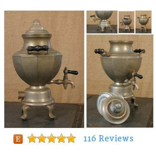 Vintage Art Deco Pewter Coffee Urn #home #etsy #PromoteEtsy #PictureVideo @SharePicVideo