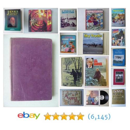 Vintage/Collectable Books in The Cupboard under The Stairs shop  @thepatrickfrost #ebay  #ebay #PromoteEbay #PictureVideo @SharePicVideo