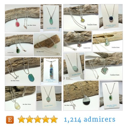English SeaGlass Jewelry by @SeaGlassVisions  #etsy shop  #etsy #PromoteEtsy #PictureVideo @SharePicVideo