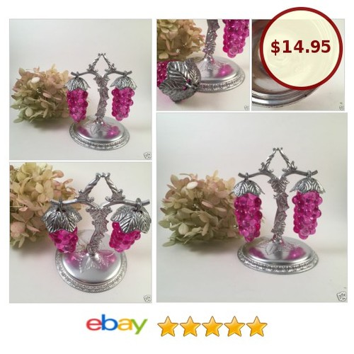 Vtg Figural Hanging Grape Cluster Salt and Pepper Shakers | eBay  #etsy #PromoteEbay #PictureVideo @SharePicVideo