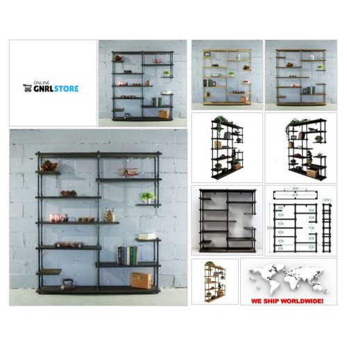 #NASHVILLE INDUSTRIAL MID CENTURY ETAGERE BOOKCASE . . Your order will help 7 TREES GET PLANTED in developing countries throughout the world. For each item ordered 7 trees get planted. #socialselling #PromoteStore #PictureVideo @SharePicVideo