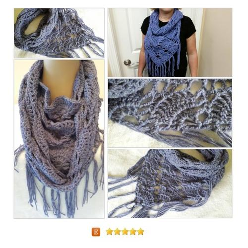 Infinity Mobius Cowl #Scarf Fringe Peruvian Alpaca #Wrap #Accessory www.softtotouch.info #etsy #PromoteEtsy #PictureVideo @SharePicVideo
