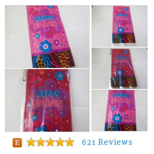 Party leopard happy birthday cello bags, #etsy @deco4partycake  #etsy #PromoteEtsy #PictureVideo @SharePicVideo
