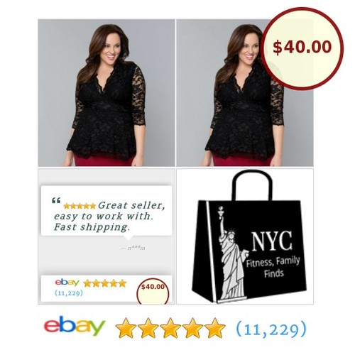 Look fabulous in this plus size black lace top from Kiyonna. It's in my🗽 NYC 🗽boutique, waiting for you.#PlusSize #BlackLace #etsy #PromoteEbay #PictureVideo @SharePicVideo