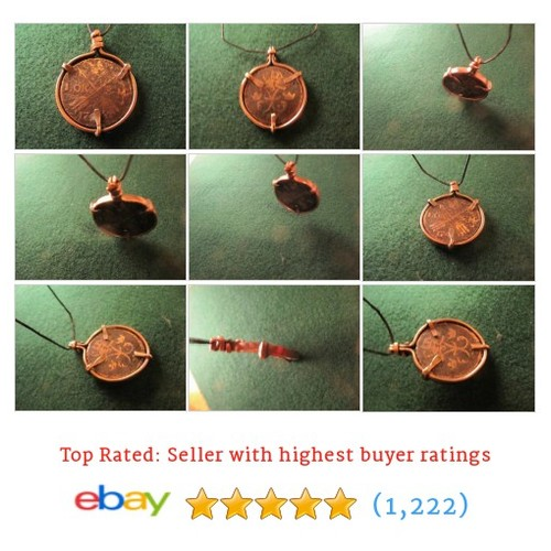 1740 SWEDISH ORE PENDANT NECKLACE IN HAND FORGED COPPER BEZEL VERY #ebay @zixaforevayoung  #etsy #PromoteEbay #PictureVideo @SharePicVideo