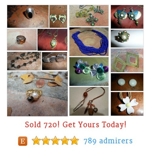 Vintage Jewelry & Rings Etsy shop #etsy @eclecticmimi  #etsy #PromoteEtsy #PictureVideo @SharePicVideo