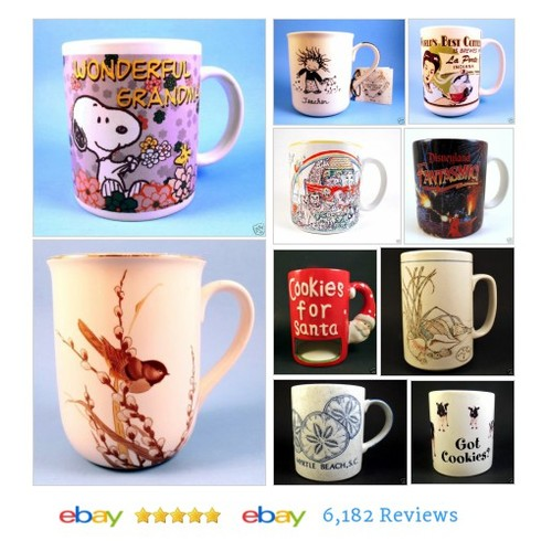 cookiebabe | eBay I have 74 mugs! Help me clear them out! SALE! #ebay #PromoteEbay #PictureVideo @SharePicVideo