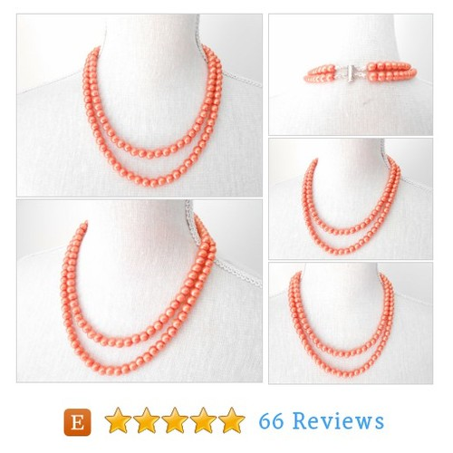 Orange pearl necklace #etsy @misticpearls https://www.SharePicVideo.com/?ref=PostPicVideoToTwitter-misticpearls #etsy #PromoteEtsy #PictureVideo @SharePicVideo