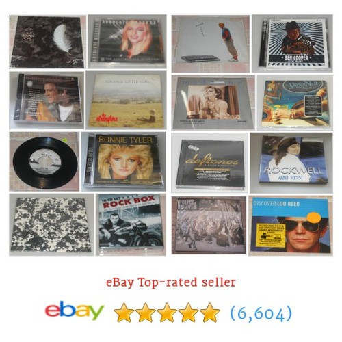 ROCK & POP Items in CD MUSICROW shop . #ebay @cdmusicrow  #ebay #PromoteEbay #PictureVideo @SharePicVideo