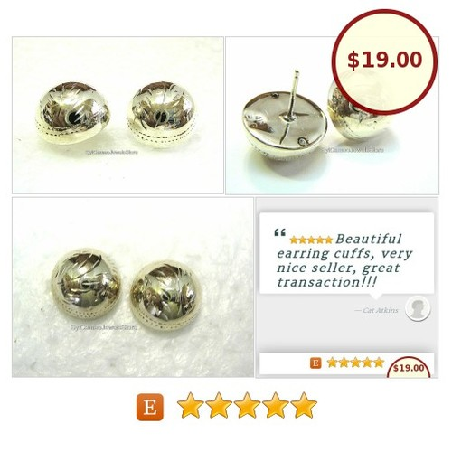 #Sterling #Silver #Stud #Round #Motif #Earrings #Fashion #Jewelry SylCameoJewelsStore #Earring #StudEarring #etsyspecialt #integrityT @etsy @SympathyRTs @SGH_RTs @iPromotable  #etsy #PromoteEtsy #PictureVideo @SharePicVideo
