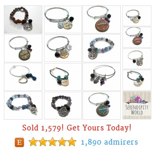 Essential Oil Bracelets Etsy shop #etsy #PromoteEtsy #PictureVideo @SharePicVideo