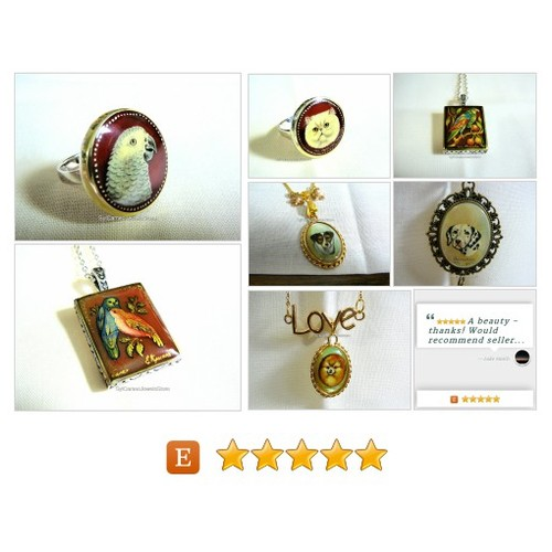 #HandPaintedCameos #Animal #Art #Cameos #Handmade #Jewelry #SylCameoJewelsStore #MyEtsyShop #etsyspecialt #3friends @EtsyClub @YTGRTs @FatalRTs #OnlineshopRT  #etsy #PromoteEtsy #PictureVideo @SharePicVideo