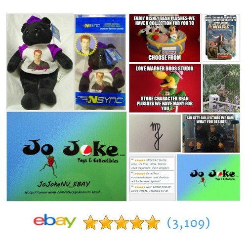 N'SYNC JOEY LIMITED ED. COLLECTIBLE BEAR-NUMBERED-MINT | eBay  #etsy #PromoteEbay #PictureVideo @SharePicVideo