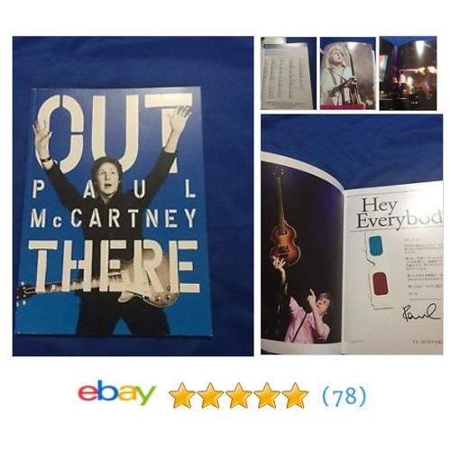 F/S Paul McCARTNEY Japan tour book 2015 Beatles #ebay @nakamutoshi1 https://www.SharePicVideo.com/?ref=PostPicVideoToTwitter-nakamutoshi1 #etsy #PromoteEbay #PictureVideo @SharePicVideo
