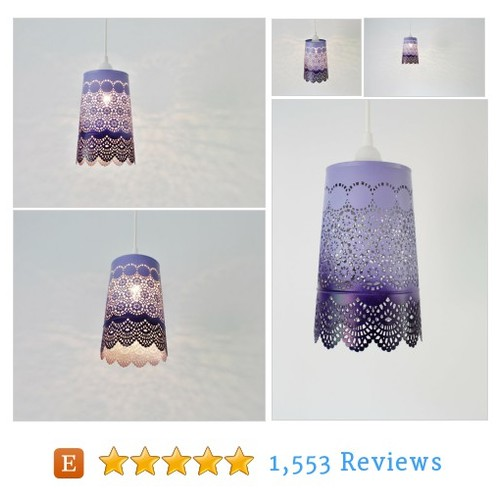 Ombre Pendant Light, Hanging Pendant #etsy @bootsngus  #etsy #PromoteEtsy #PictureVideo @SharePicVideo