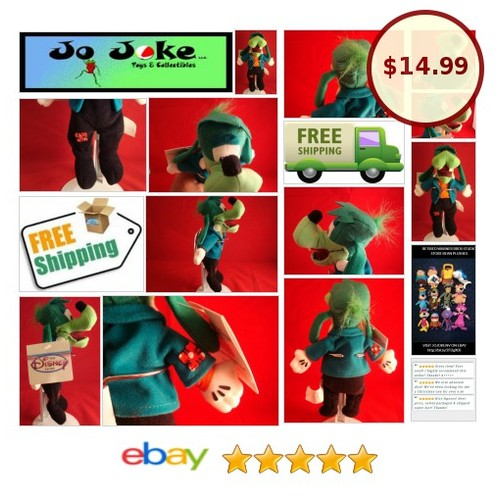 DISNEY STORE EXCLUSIVE-GOOFENSTEIN BEAN PLUSH-GREEN AND BLUE GOOFY-NEW/TAGS-RARE | eBay #DisneySTOREEXCLUSIVE #etsy #PromoteEbay #PictureVideo @SharePicVideo