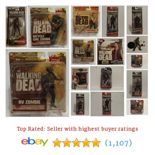 The Walking Dead Items in DOMINICS ATTIC OF HORRORS store #ebay @nictomaso  #ebay #PromoteEbay #PictureVideo @SharePicVideo