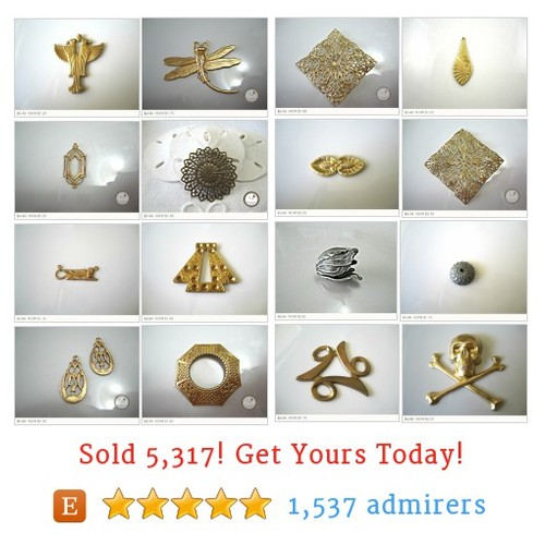 Brass - Components Etsy shop #brasscomponent #etsy @lilczechtreasur  #etsy #PromoteEtsy #PictureVideo @SharePicVideo