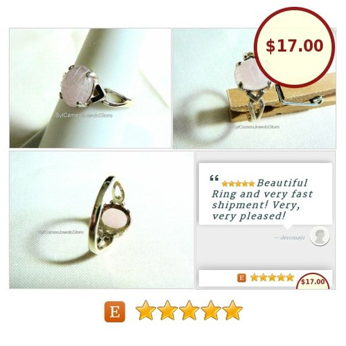 #RoseQuartzScarab #Midi #SterlingSilver #Ring #Jewelry #SylCameoJewelsStore #MidiRing #SpecialT #gemstone #etsyteamunity #3friends @EtsyClub  #etsy #PromoteEtsy #PictureVideo @SharePicVideo