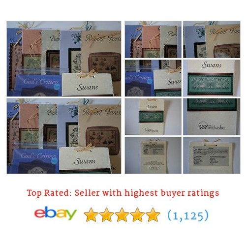 The Workbasket Counted Cross Stitch Charts You Choose #ebay @ggscloset  #etsy #PromoteEbay #PictureVideo @SharePicVideo