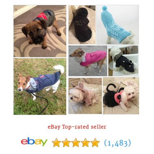Dog Clothes Items in Paw Palace shop . #ebay @paw_palace  #ebay #PromoteEbay #PictureVideo @SharePicVideo