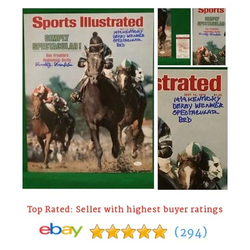 Ron Franklin, signed Sports Illustrated Cover #sellonebay #ebay @tell_sports  #etsy #PromoteEbay #PictureVideo @SharePicVideo