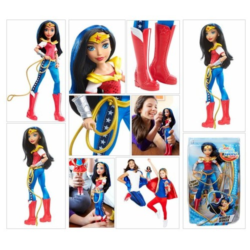 "Amazon.com:# DC #Super #Hero #Girls #Wonder Woman 12"" Action Doll: Toys & Games #socialselling #PromoteStore #PictureVideo @SharePicVideo"